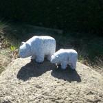 Eisbären aus Granit