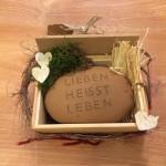 Geschenkidee: Spruchstein,